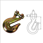 G70 Forged Clevis Grab Hook Heavy Duty