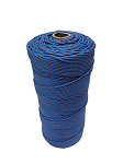 PolyPropylene Braided Twine (Sky Blue & Red) 2.2 Lbs