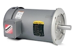 Baldor Motor - 2HP, 3490RPM, 3PH, 60HZ, 143TC, 3526M, TEFC, F1